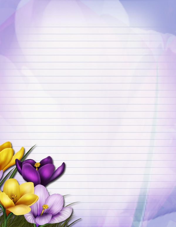 Floral Stationary by JunkbyJen by JunkbyJen on DeviantArt