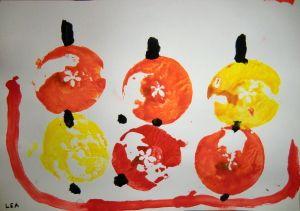 Jablíčka v ošatce