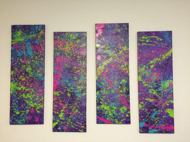 How to Splatter Paint!