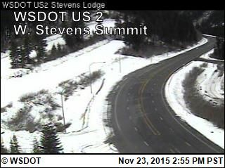 WSDOT - Stevens Pass Road and Weather Conditions