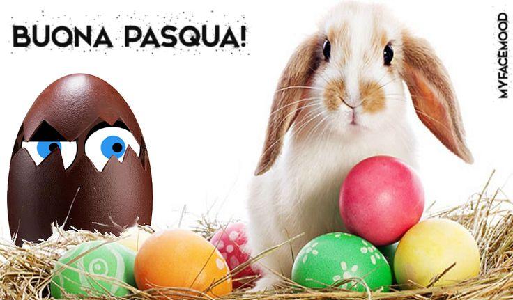 Buona #Pasqua a tutti da @myfacemood!