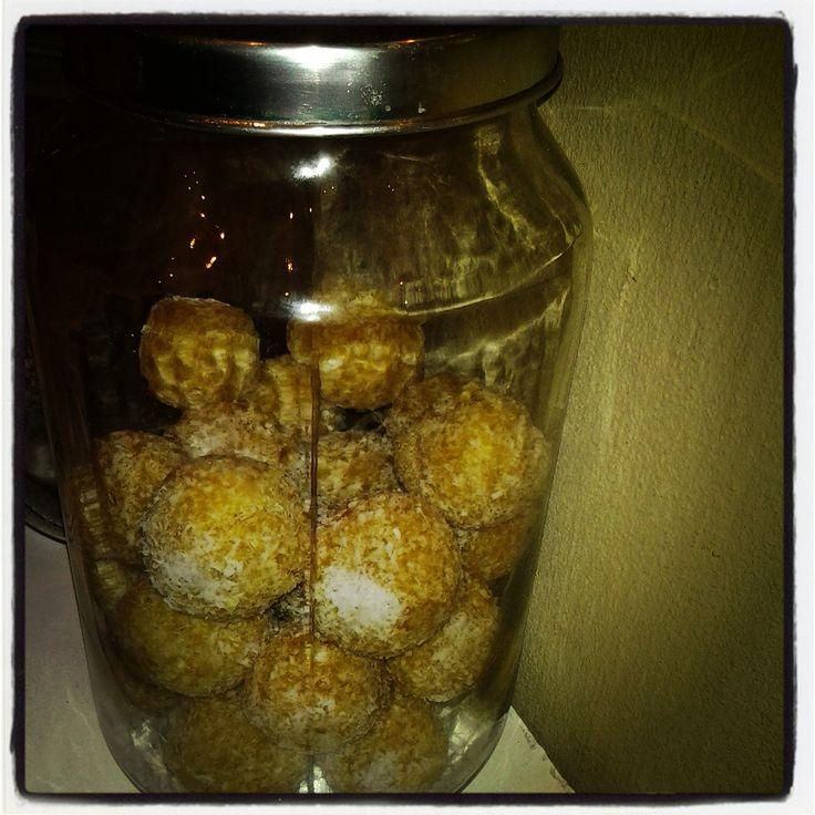 Apricot balls from gingko