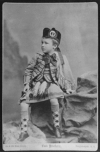 franklindroosevelt child portrait m 40 Fotografias Históricas de Famosos em Crianças