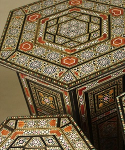 Syrian Inlaid table