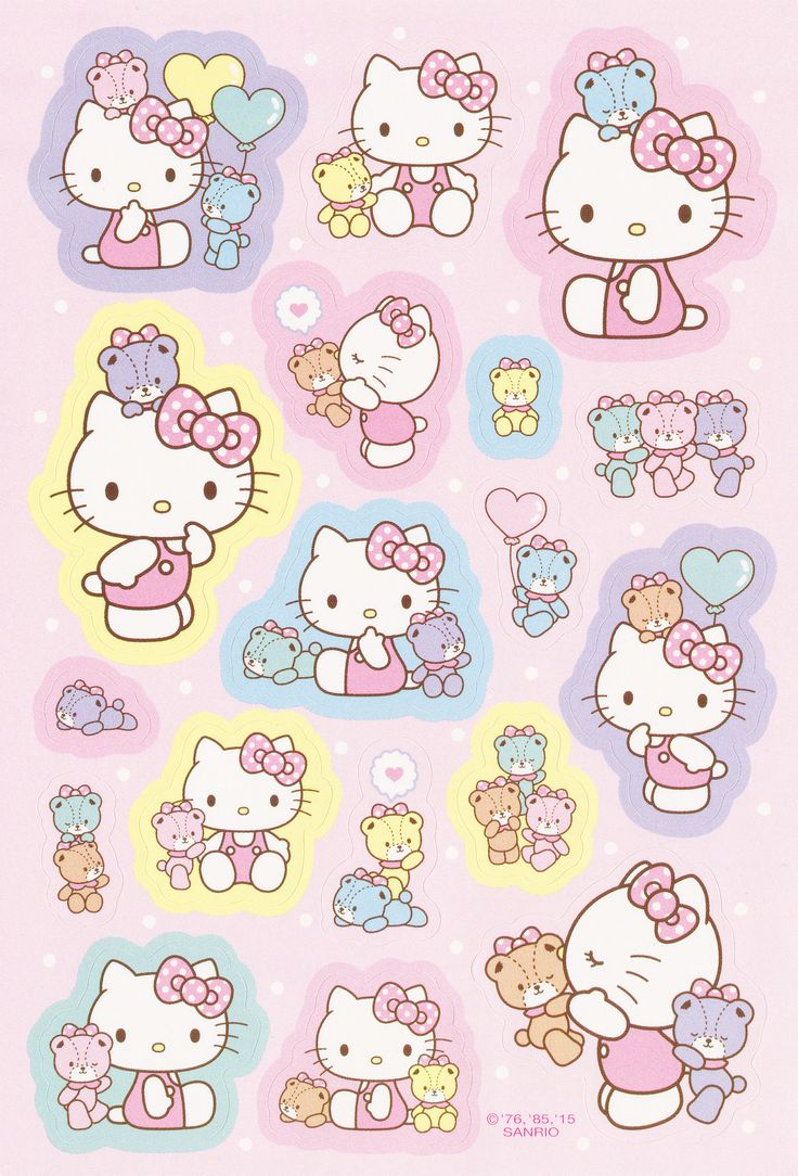 Maries Manor Hello Kitty: 2367 Best Images About Papiers Peints On Pinterest