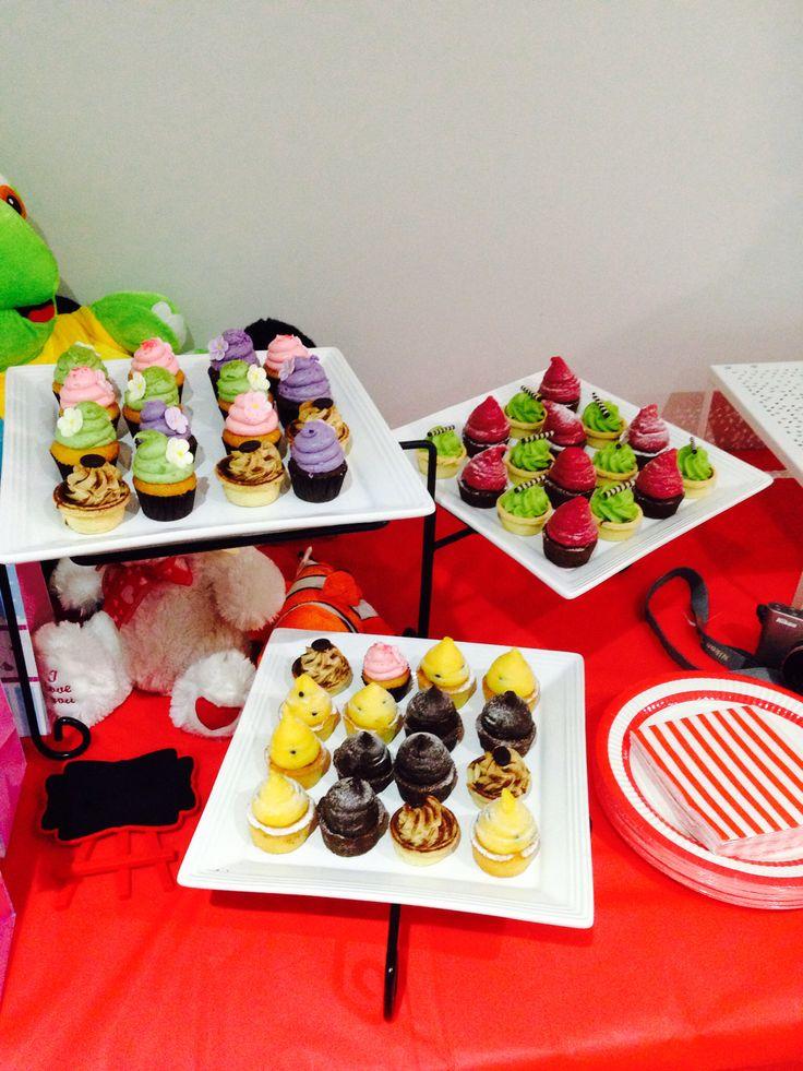 Minni cupcakes Baby shower