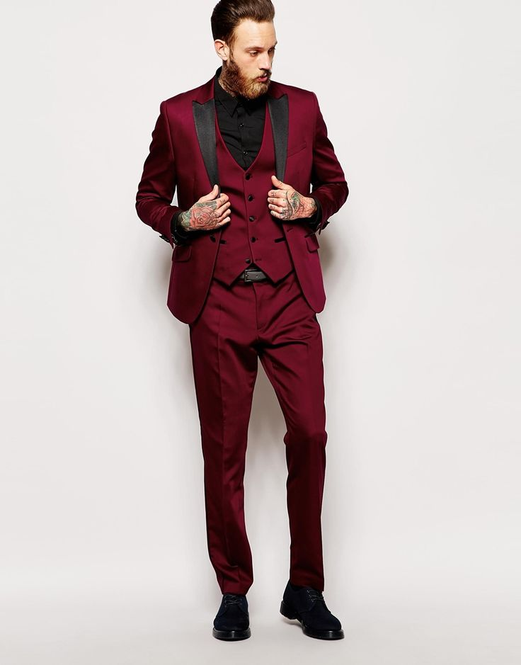 Image 4 of Red Eleven Tux Suit Jacket