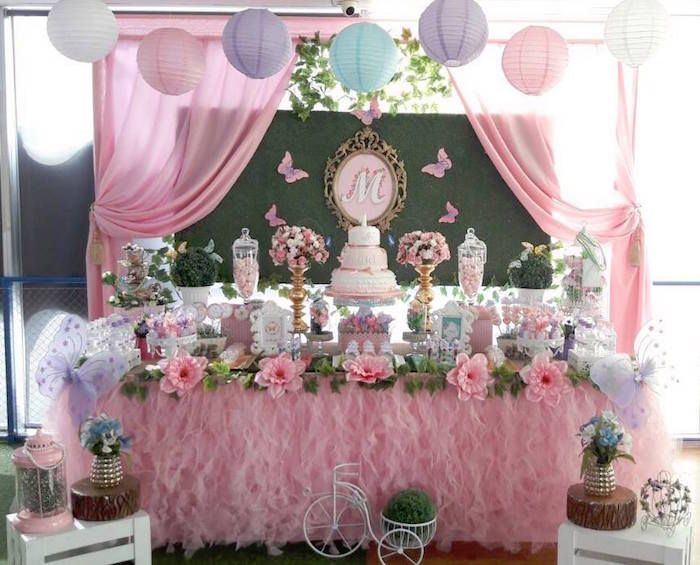 Beautiful Butterfly Birthday Party On Kara S Party Ideas