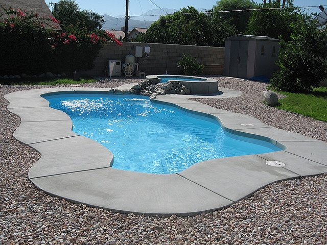Freeform swimming pool example wish this was your pool freeform pool designs pinterest for Fiberglass swimming pools sacramento