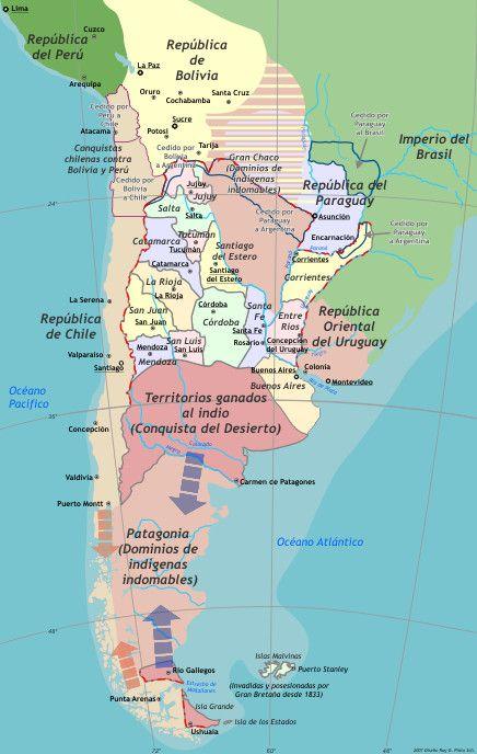 República Argentina 1852-1881