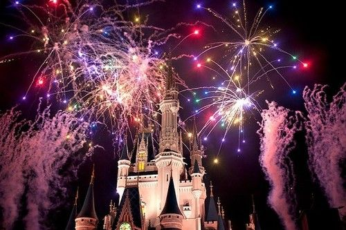 Fireworks + Disney World