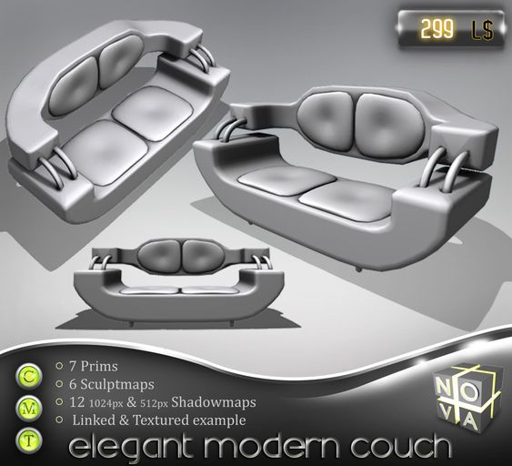 Space And Scifi Things With Zmodeler: Cool Sci Fi Couch - Google Search