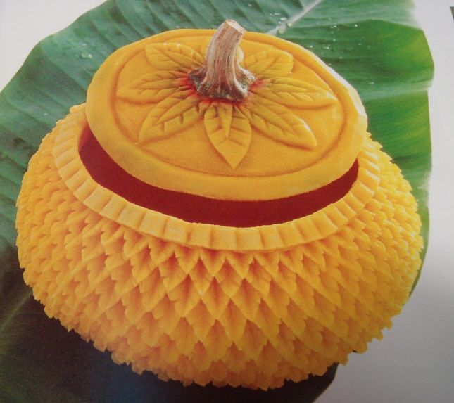 Best images about food carving on pinterest fruits