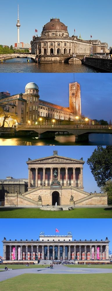 Museum Island - Berlin, Germany ... Visit these amazing museums http://666travel.com/museum-island-berlin-germany/