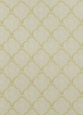 GP&J Baker Kashmira in Yellow.  Really hard to find nice yellow wallpaper that doesn't overpower a room.  Here's one that doesn't...
