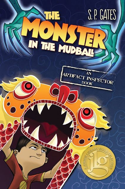 """2013 """"The Monster in the Mudball"""" published By Tu Books, an imprint of Lee and Low books. (American edition of """"Zilombo"""")"""