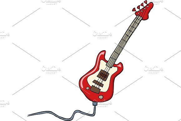 Electric Guitar Electric Guitar Guitar Guitar Drawing