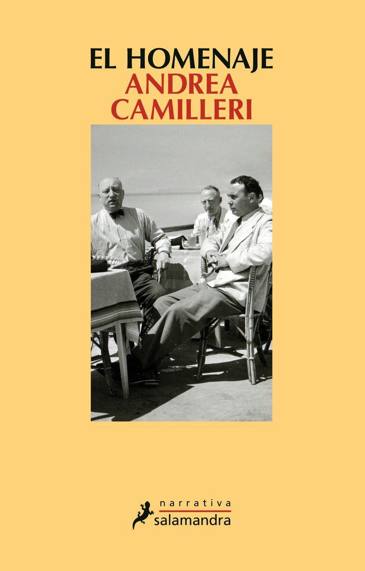 El homenaje / Andrea Camilleri https://cataleg.ub.edu/record=b2232235~S1*cat  El 11 de junio de 1940, Italia entera celebra la entrada en guerra como si fuera un «billete de lotería premiado». En Vigàta, tras cinco años de confinamiento por «difamación sistemática del glorioso régimen fascista», Micheli Ragusano se presenta de improviso en el Círculo Fascismo y Familia.