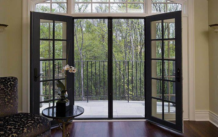 Invisible hidden retractable door insect bug screens for Insect screens for french doors