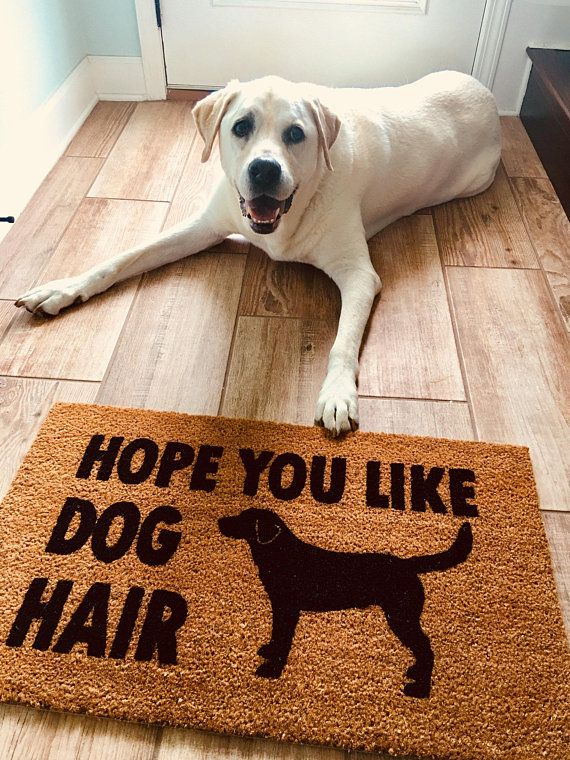 Hope You Like Dog Hair Door Mat Dog Doormat Pet Lover Home Decor