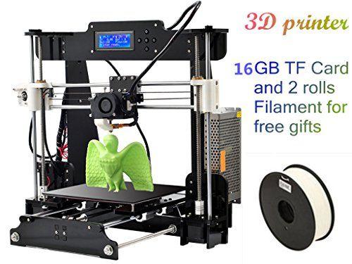 Desktop DIY 3D Printer Prusa i3 Best Digital Printers Size 210*210*240 mm 110-220V with 2*0.5kg Filament & 16G TF Card for gifts DMYY http://www.amazon.co.uk/dp/B01AXYG4P2/ref=cm_sw_r_pi_dp_EW67wb12MNC30