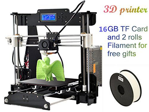 Desktop DIY 3D Printer Prusa i3 Best Digital Printers Size 210*210*240 mm 110-220V with 2*0.5kg Filament & 16G TF Card for gifts DMYY http://www.amazon.co.uk/dp/B01AXYG4P2/ref=cm_sw_r_pi_dp_EW67wb12MNC30