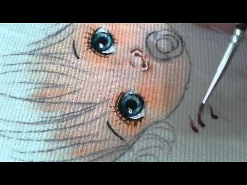 Pintura em tecido (nariz) - YouTube