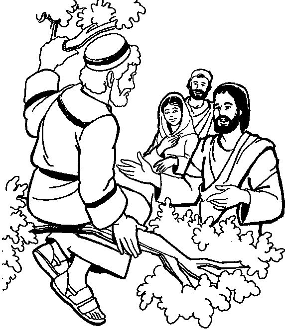 Day 1 VBS 2016 Zacchaeus Coloring Page