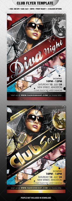 Club PSD Flyer  Template • Only available here ➝ http://graphicriver.net/item/club-flyer/2556582?ref=pxcr