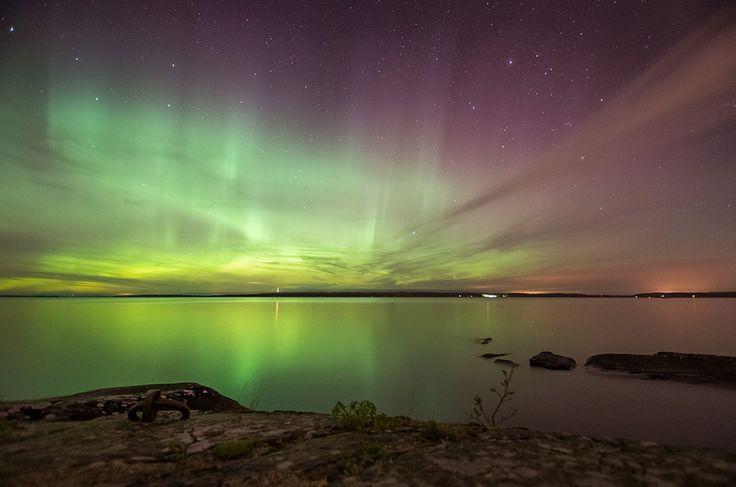 Auroras in Rauhaniemi
