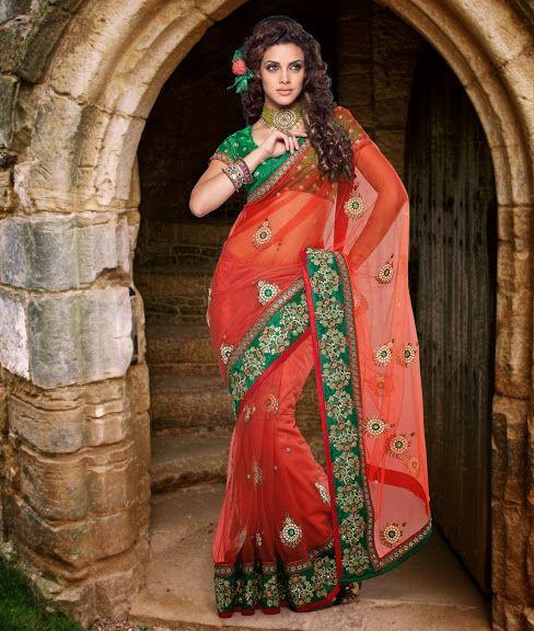 Ethnic Indian Saree by Shoppingkarega.com
