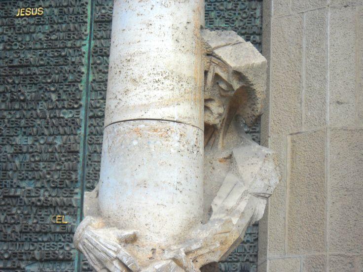 Columna de la Flagelación, Sagrada Familia, Barcelona