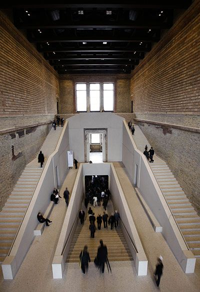Going for gold: David Chipperfield's best buildings in pictures