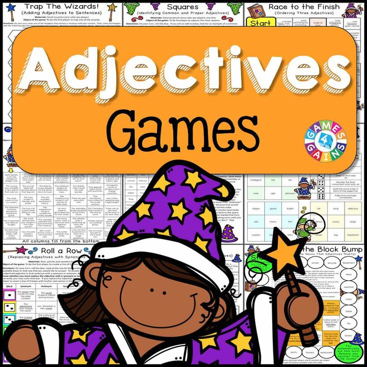 Adjectives Games