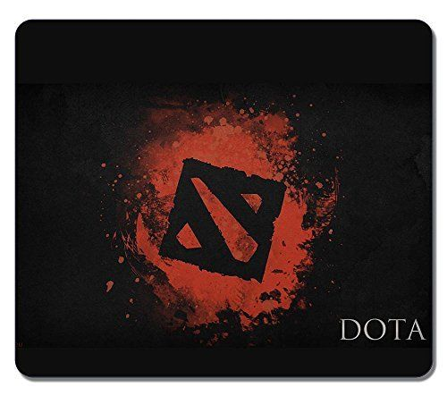 Customized Non-Slip Large Textured Surface Water Resistent Mousepad Dota 2 Black Logo Art Durable Large Gaming Mouse Pads Oblong Mousepad