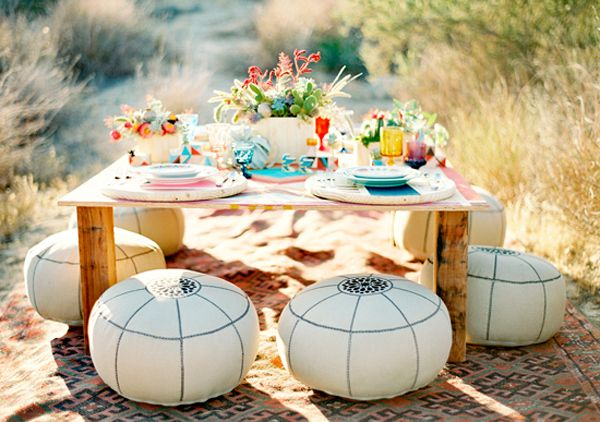 A SOUTHWESTERN INSPIRATION SHOOT #party #decor #table