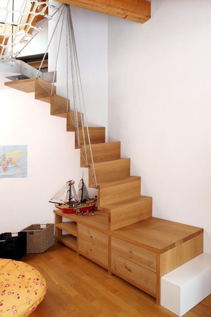 die besten 25 raumspartreppen ideen auf pinterest dachbodenausbau treppe dachbodentreppe und. Black Bedroom Furniture Sets. Home Design Ideas