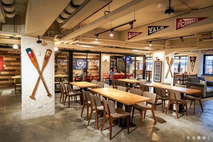 [台北]Campus Cafe站前店 - 美式校園風 裝潢用心氣氛大有Fu!有素食