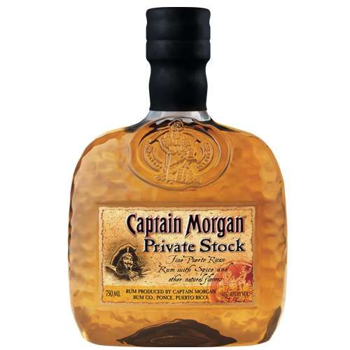 Private Stock Captain Morgan Rum