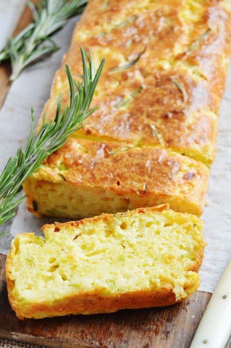 Pastel de calabacín, parmesano y romero | Cocina