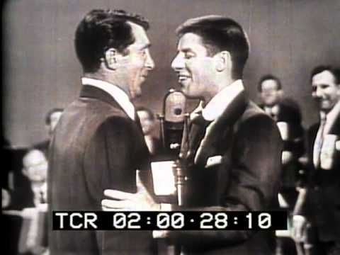 Dean Martin Jerry Lewis on Bob Hope Bing Crosby US Olympic team telethon...