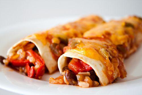 how to make veg enchiladas at home