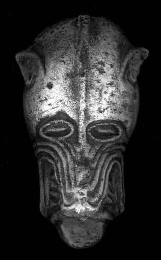 Viking Gargoyle  Animal heads like this 11th century carving can be found throughout Ireland and England and display the powerful artistic contribution of the Viking culture to these countries.  The animal depicted is most likely a wolf, now vanished from these regions, but at one time an important animal in Celtic-Norse iconography.