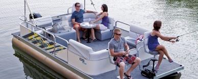 Lowe Pontoon Boats GS202 Grand Sport