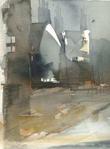 Lena Amstrand Akvareller #watercolor jd
