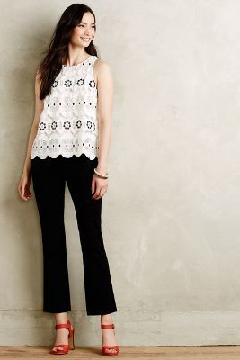 Cartonnier Crop Flare Charlie Trousers #anthrofave