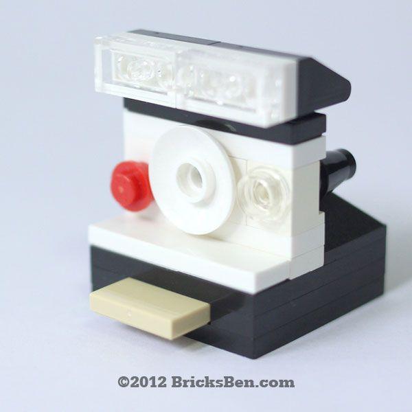 BricksBen - LEGO Polaroid - Front by BricksBen, via Flickr