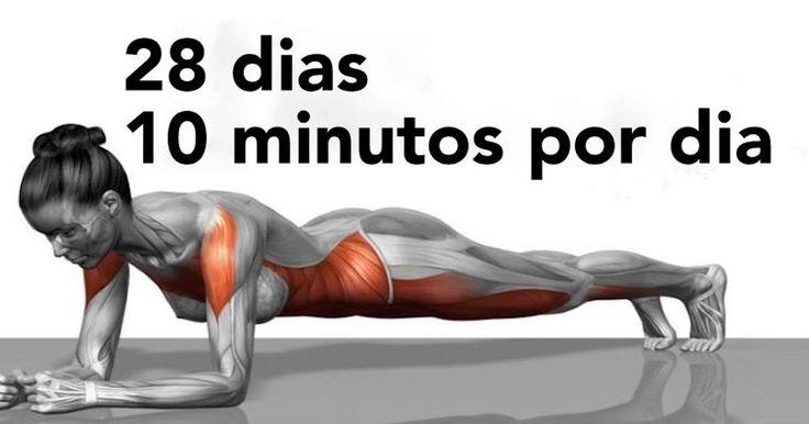 5 exercícios que vão transformar o seu corpo em apenas 4 semanas!