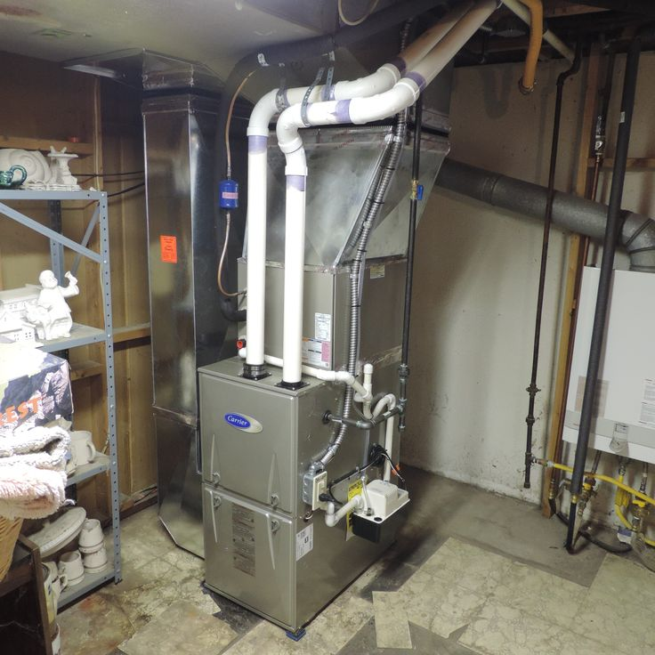 New Carrier furnace installed in early summer of 2015. Also........