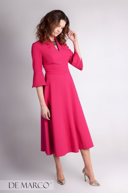 0f6c3012b4 Modna sukienka na jesień 2018   2019 sukienka od projektanta na wszystkie  okazje i uroczystości.